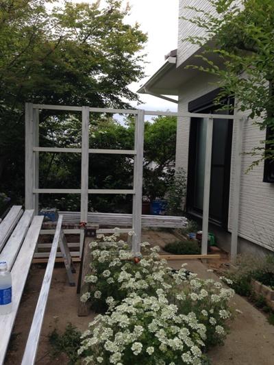 Hさま邸 フェンス1