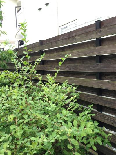 東広島Fさま邸杉板フェンス